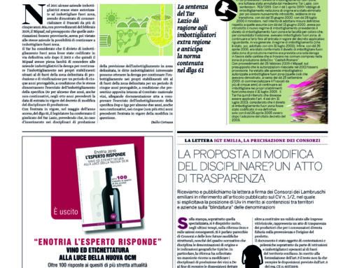 Il Corriere Vinicolo 24/1/2011